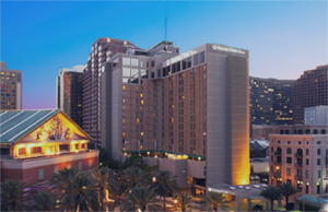 Doubletree Hotel in New Orleans